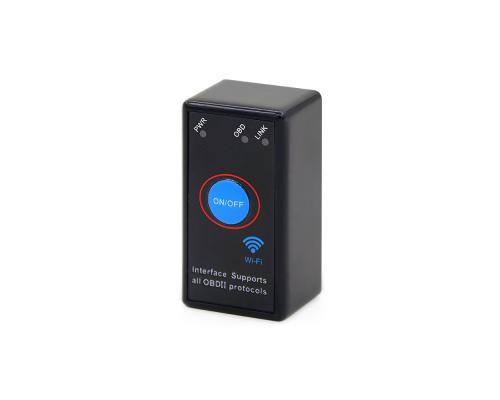 Диагностический сканер-адаптер ELM327 V1.5 WI-FI С КНОПКОЙ ВЫКЛ.